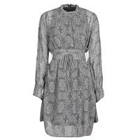 Kleidung Damen Kurze Kleider Ikks BR30165 Grau