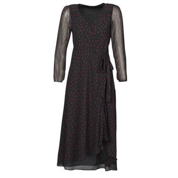 Kleidung Damen Maxikleider Ikks BR30225 Schwarz