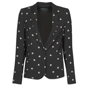 Kleidung Damen Jacken / Blazers Ikks BR40115 Schwarz