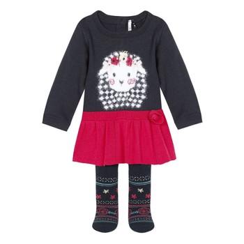Kleidung Mädchen Kleider & Outfits 3 Pommes 3R36050-85 Multicolor
