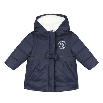Kleidung Mädchen Daunenjacken 3 Pommes 3R42012-49 Marine
