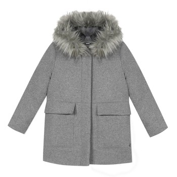 Kleidung Mädchen Mäntel 3 Pommes 3R44034-220-C Grau