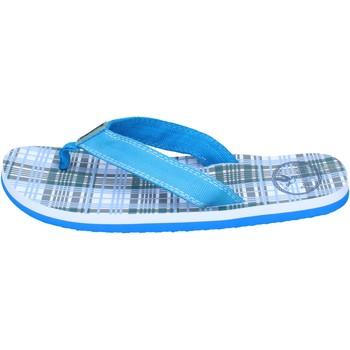 Schuhe Jungen Sandalen / Sandaletten Brooksfield sandalen segeltuch hellblau