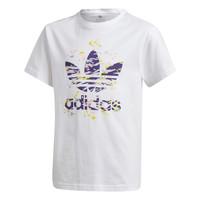 Kleidung Mädchen T-Shirts adidas Originals TREF TEE Weiss