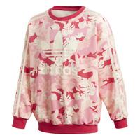 Kleidung Mädchen Sweatshirts adidas Originals CREW Rose