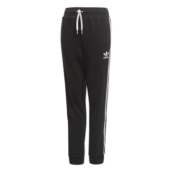 Kleidung Kinder Jogginghosen adidas Originals TREFOIL PANTS Schwarz