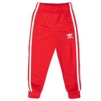 Kleidung Kinder Jogginghosen adidas Originals SST TRACKPANT Rot