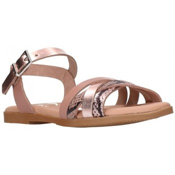 Schuhe Mädchen Sandalen / Sandaletten Oh My Sandals For Rin OH MY SANDALS 4754 NUDE CB Niña Nude rose