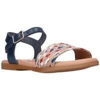 Schuhe Mädchen Sandalen / Sandaletten Oh My Sandals For Rin OH MY SANDALS 4755 MARINO CB Niña Azul marino bleu