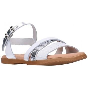 Schuhe Mädchen Sandalen / Sandaletten Oh My Sandals For Rin OH MY SANDALS 4752 BLANCO CB Niña Blanco blanc