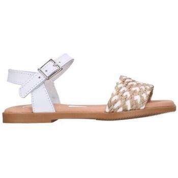 Schuhe Mädchen Sandalen / Sandaletten Oh My Sandals For Rin OH MY SANDALS 4755 BLANCO CB Niña Blanco blanc