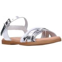 Schuhe Mädchen Sandalen / Sandaletten Oh My Sandals For Rin OH MY SANDALS 4754 BLANCO CB Niña Blanco blanc