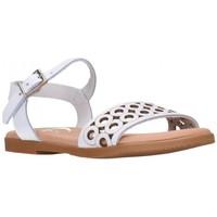 Schuhe Mädchen Sandalen / Sandaletten Oh My Sandals For Rin OH MY SANDALS 4762 BLANCO Niña Blanco blanc