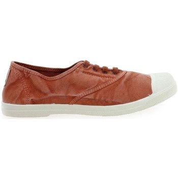 Schuhe Damen Sneaker Natural World Basket Wine 642-102E Orange