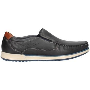 Schuhe Herren Slipper Braking 6562 Bummler Mann blau blau