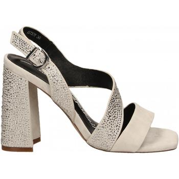 Schuhe Damen Sandalen / Sandaletten Luciano Barachini CAMOSCIO ghiaccio