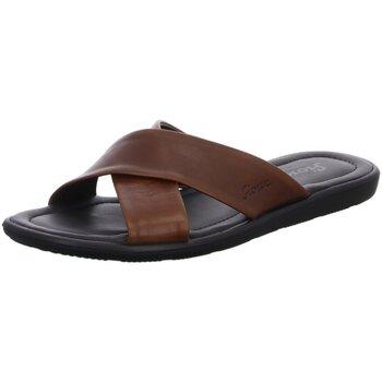 Schuhe Herren Pantoffel Sioux Offene Minago 30882 braun