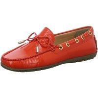 Schuhe Damen Bootsschuhe Sioux Schnuerschuhe Carmona-701 65251 rot