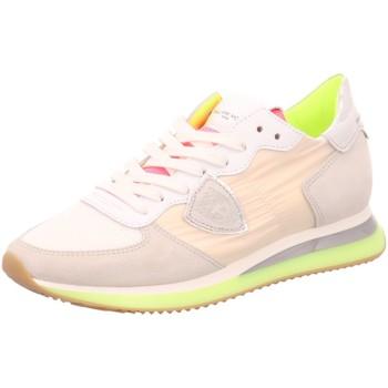 Schuhe Damen Sneaker Low Philippe Model Schnuerschuhe TZLD WF12 TZLD WF12 weiß