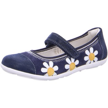 Schuhe Mädchen Derby-Schuhe & Richelieu Lurchi By Salamander Spangenschuhe MARTA 33-14976-22 blau