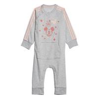Kleidung Mädchen Pyjamas/ Nachthemden adidas Performance INF DY MM ONE Weiss