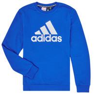 Kleidung Jungen Sweatshirts adidas Performance JB MH CREW Blau