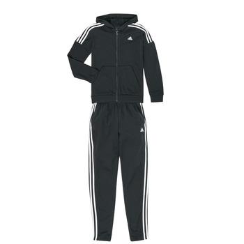 Kleidung Jungen Jogginganzüge adidas Performance JB COTTON TS Schwarz