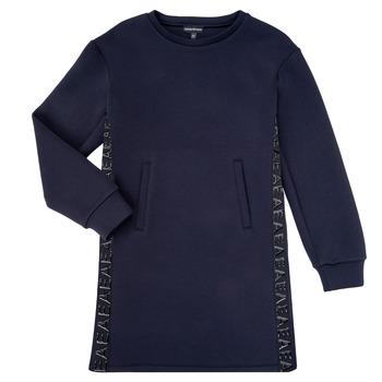Kleidung Mädchen Kurze Kleider Emporio Armani 6H3A07-1JDSZ-0920 Marine