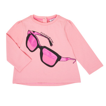 Kleidung Mädchen Langarmshirts Emporio Armani 6HET02-3J2IZ-0315 Rose