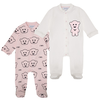 Kleidung Mädchen Pyjamas/ Nachthemden Emporio Armani 6HHV06-4J3IZ-F308 Rose