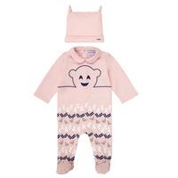 Kleidung Mädchen Pyjamas/ Nachthemden Emporio Armani 6HHV08-4J3IZ-0355 Rose