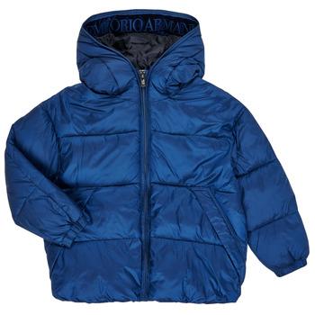 Kleidung Jungen Daunenjacken Emporio Armani 6H4BF9-1NLYZ-0975 Marine