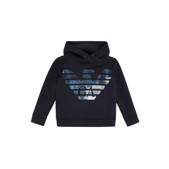 Kleidung Jungen Sweatshirts Emporio Armani 6H4MA9-1JDSZ-0920 Marine