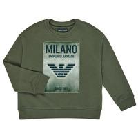 Kleidung Jungen Sweatshirts Emporio Armani 6H4MM1-4J3BZ-0564 Kaki