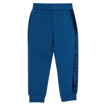 Kleidung Jungen Jogginghosen Emporio Armani 6H4P84-1JDSZ-0975 Marine