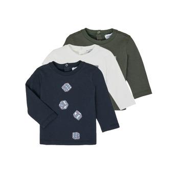 Kleidung Jungen Langarmshirts Emporio Armani 6HHD21-4J09Z-0564 Multicolor