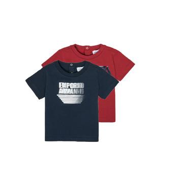 Kleidung Jungen T-Shirts Emporio Armani 6HHD22-4J09Z-0353 Multicolor