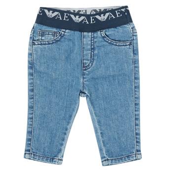 Kleidung Jungen Slim Fit Jeans Emporio Armani 6HHJ07-4D29Z-0942 Blau