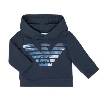 Kleidung Jungen Sweatshirts Emporio Armani 6HHMA9-4JCNZ-0922 Marine