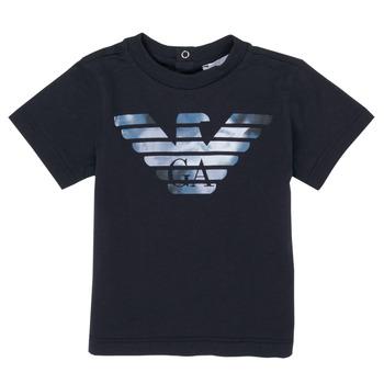 Kleidung Jungen T-Shirts Emporio Armani 6HHTA9-1JDXZ-0920 Marine