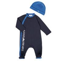 Kleidung Jungen Pyjamas/ Nachthemden Emporio Armani 6HHV12-4J3CZ-0922 Marine