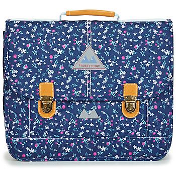 Taschen Mädchen Schultasche Poids Plume FLEURY CARTABLE 38 CM Blau