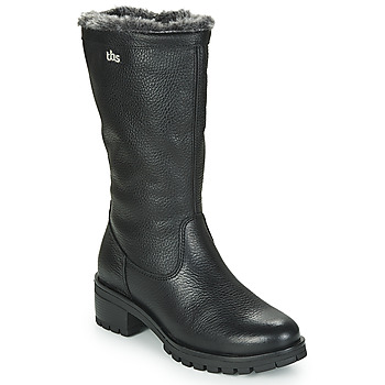 Schuhe Damen Klassische Stiefel TBS PHILINA Schwarz