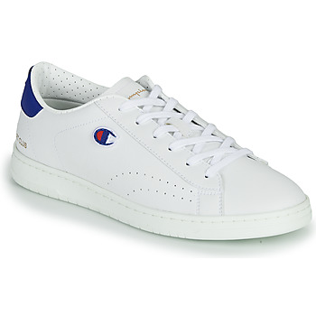 Schuhe Herren Sneaker Low Champion COURT CLUB PATCH Weiss / Rot / Blau