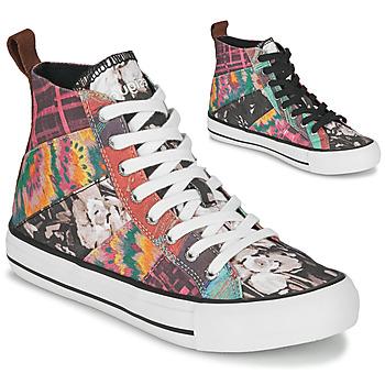 Schuhe Damen Sneaker High Desigual BETA_HERITAGE Multifarben