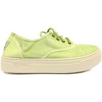 Schuhe Damen Sneaker Natural World Basket Platform Verte 641-6112E Grün