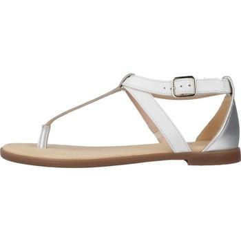 Clarks BAY POST WHITE INTEREST Weiß - Schuhe Sandalen / Sandaletten Damen 4377