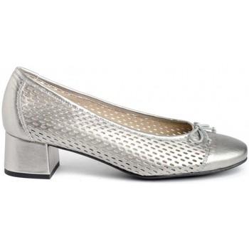 Schuhe Damen Pumps Kissia 433-L Silbern