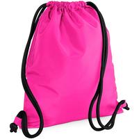 Taschen Kinder Sporttaschen Bagbase BG110 Fuchsia/Schwarz