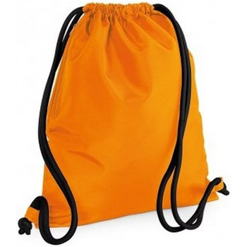Taschen Kinder Sporttaschen Bagbase BG110 Orange/Schwarz